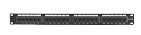 Carson Telecom Cat6 12 Port Patch Panel